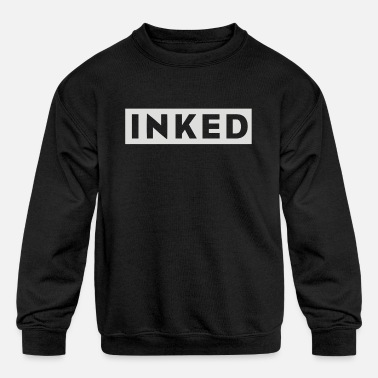 Ink inked - Kids' Crewneck Sweatshirt