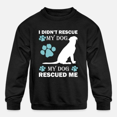Rescue Dog rescue dog - Kids' Crewneck Sweatshirt