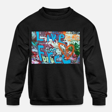 Graffiti5 - Kids' Crewneck Sweatshirt