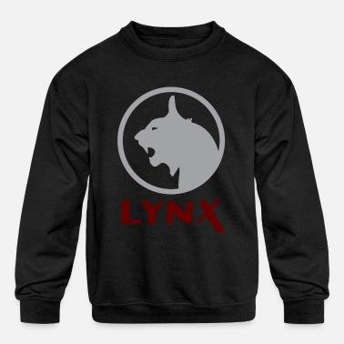 Silver Cat stranger things lynx transportation silver cat - Kids' Crewneck Sweatshirt