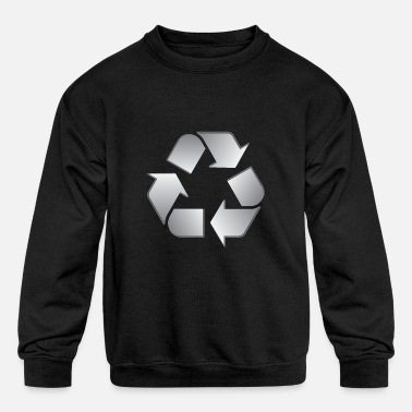 Recycling Recycling - Kids' Crewneck Sweatshirt