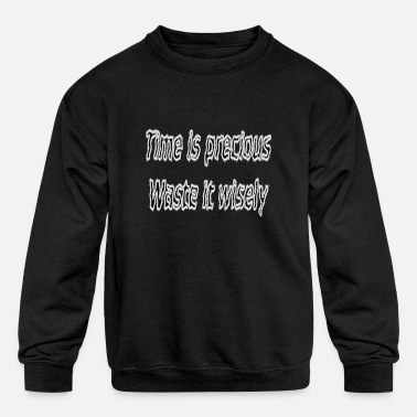 Funny Quotes For Girls Funny quote - Kids' Crewneck Sweatshirt