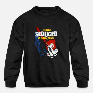 Seduce Seduced by the Dark Side - Kids' Crewneck Sweatshirt