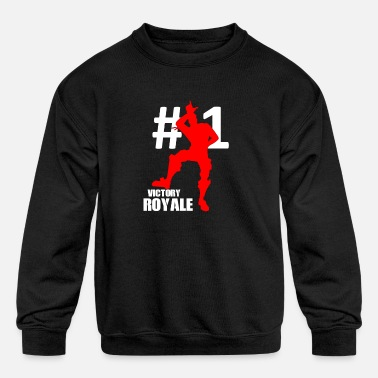 Victory Royale Battle Gaming - Kids' Crewneck Sweatshirt