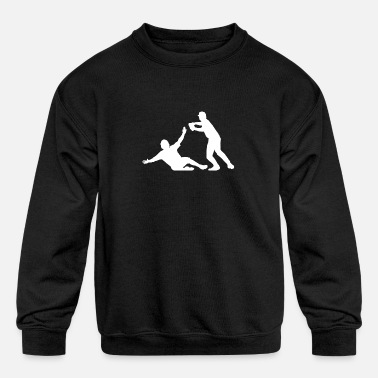 Baseball Players Baseball Players - Kids' Crewneck Sweatshirt