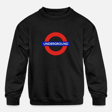 UNDERGROUND London Present - Kids' Crewneck Sweatshirt