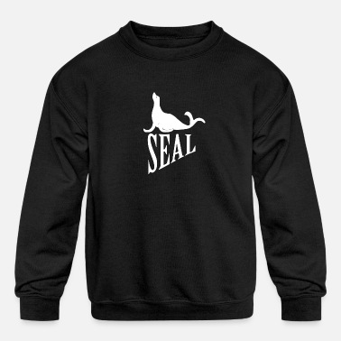 Seal Seal (animal) - Kids' Crewneck Sweatshirt