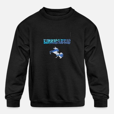 Unique - Kids' Crewneck Sweatshirt