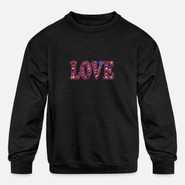 Love Design - Kids' Crewneck Sweatshirt
