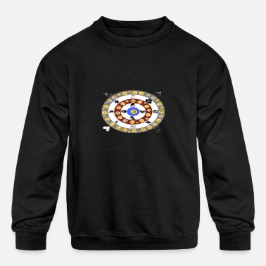 smiley - Kids' Crewneck Sweatshirt