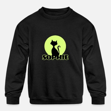 Sophie Sophie first name - Kids' Crewneck Sweatshirt