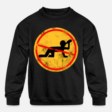 Alcohol NO Alcohol - Kids' Crewneck Sweatshirt