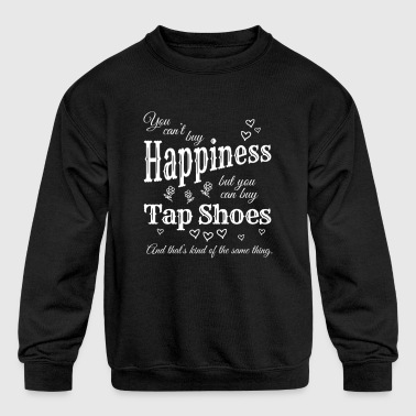 Buy Tap Shoes Dance Teacher or Student for dark - Kid's Crewneck Sweatshirt