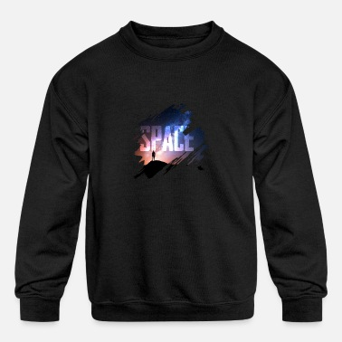 Space Travel Space travel - Kids' Crewneck Sweatshirt