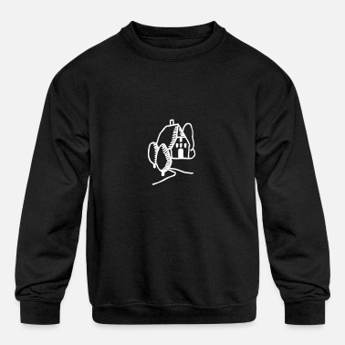 Countryside Countryside House - Kids' Crewneck Sweatshirt