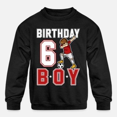 11c25705 6 Year Old Dabbing Soccer Player 6th BDay Toddler Premium T-Shirt ...