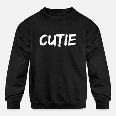 Broke But Sexy Sexy sweet cute mouse - Kids' Crewneck Sweatshirt