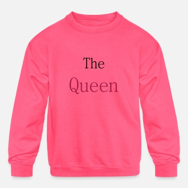 Queen1 - Kids' Crewneck Sweatshirt