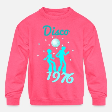 Afro Disco - Kids' Crewneck Sweatshirt