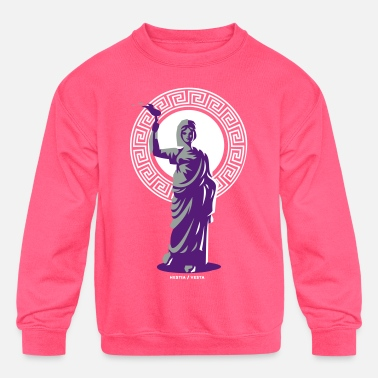 greek mythology - hestia - Kids' Crewneck Sweatshirt