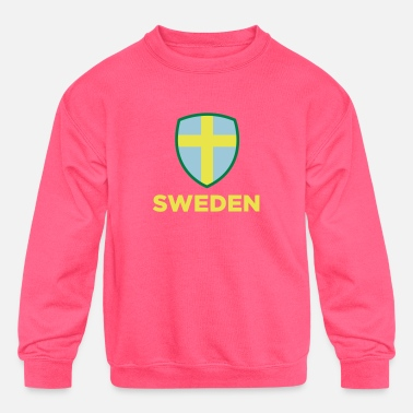Sweden National Flag Of Sweden - Kids' Crewneck Sweatshirt