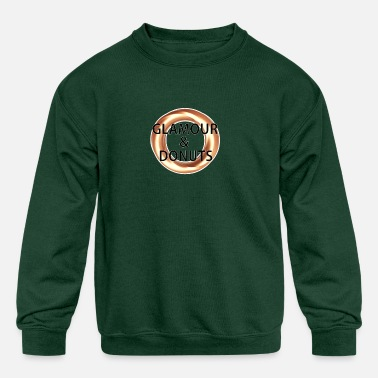 Glamour Glamour and Donuts - Kids' Crewneck Sweatshirt