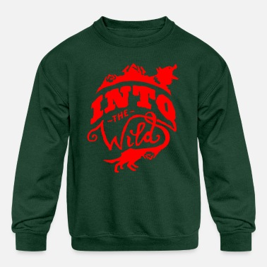 Wild Into The Wild - Kids' Crewneck Sweatshirt
