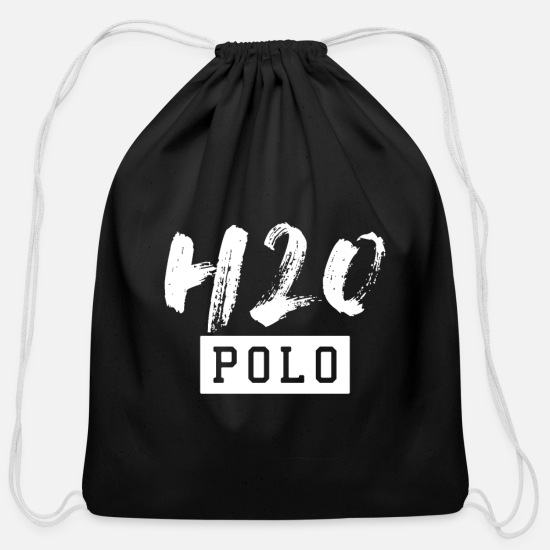 Gift Idea Bags & Backpacks - WATER POLO H2O - Cotton Drawstring Bag black