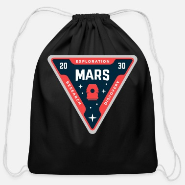 Mars Nasa - Cotton Drawstring Bag