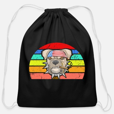 July Fourth Fourth of July, july fourth - Cotton Drawstring Bag