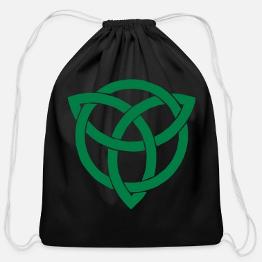 Trinity Celtic trinity - Cotton Drawstring Bag