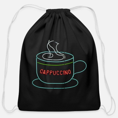 Cappuccino Cappuccino - Cotton Drawstring Bag
