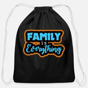 Birthday Family gift Christmas birthday - Cotton Drawstring Bag