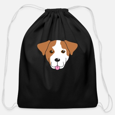 Dog Head Dog Head - Cotton Drawstring Bag