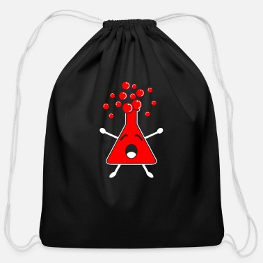 Chemical Chemical Reaction Overreaction Chemics - Cotton Drawstring Bag