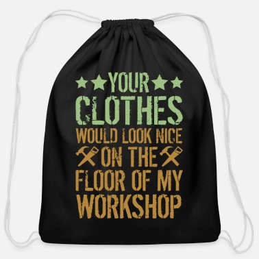 Carpentry Funny Carpentry Woodworking Tools Humorous Gift - Cotton Drawstring Bag