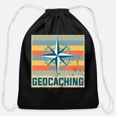 Treasure Geocaching - Cotton Drawstring Bag