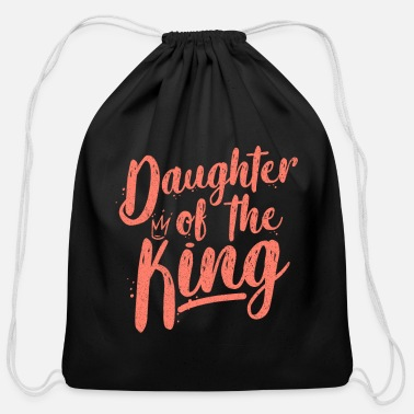 Father And Daughter Father and Daughter - Cotton Drawstring Bag