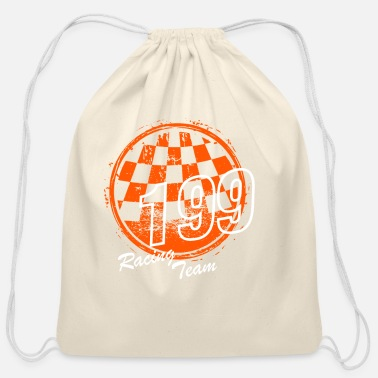 Jersey Number Racing Team 199 - Cotton Drawstring Bag