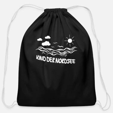 North Sea Child of the North Sea - Cotton Drawstring Bag