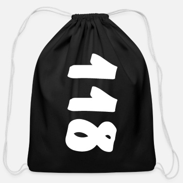 Numbers cislo, numer, 1416 months - Cotton Drawstring Bag