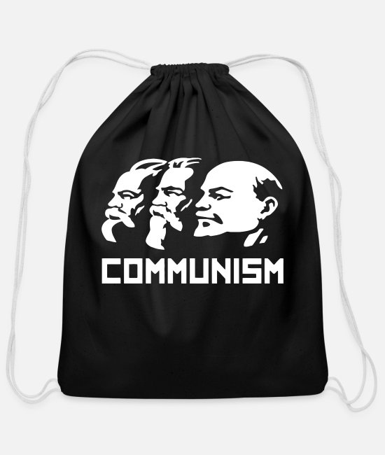 Russia Bags & Backpacks - COMMUNISM RUSSIA - Cotton Drawstring Bag black