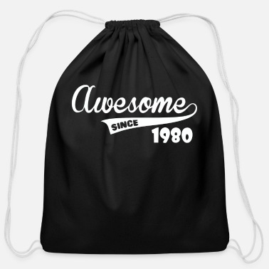Awesome Since Awesome Since - Cotton Drawstring Bag