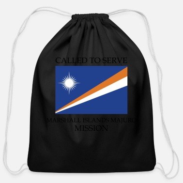 Marshall Islands Marshall Islands Majuro LDS Mission Called to - Cotton Drawstring Bag