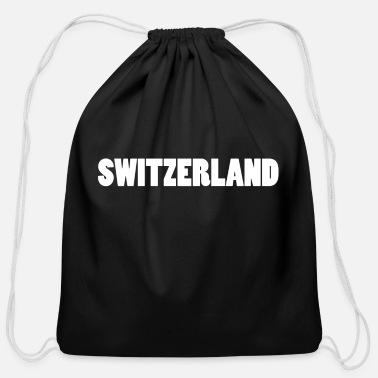 Switzerland Switzerland Zurich Switzerland - Cotton Drawstring Bag