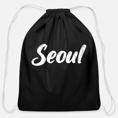 Southcorea Travel Seoul | South Korea | Capital City - Cotton Drawstring Bag