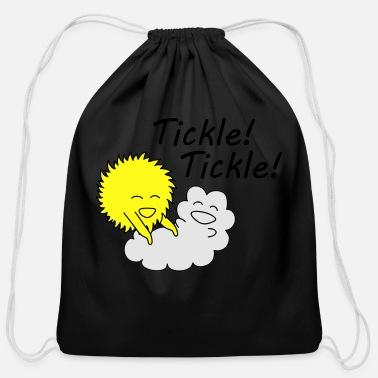 Tickle Tickle tickle sun. - Cotton Drawstring Bag