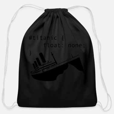 Titanic titanic - Cotton Drawstring Bag
