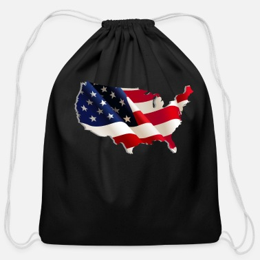 Usa usa - Cotton Drawstring Bag