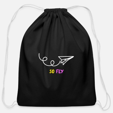 Drawing Drawing - Cotton Drawstring Bag